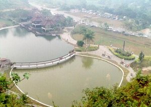 Sibu Aup Garden aerial view