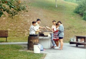 BBQ at Aup Garden