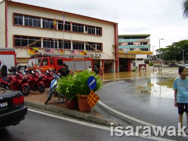 Junction of Fire station and petrol kiok