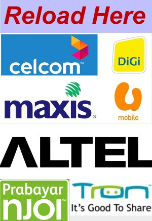Want To Reload Your Malaysia Telco Lines