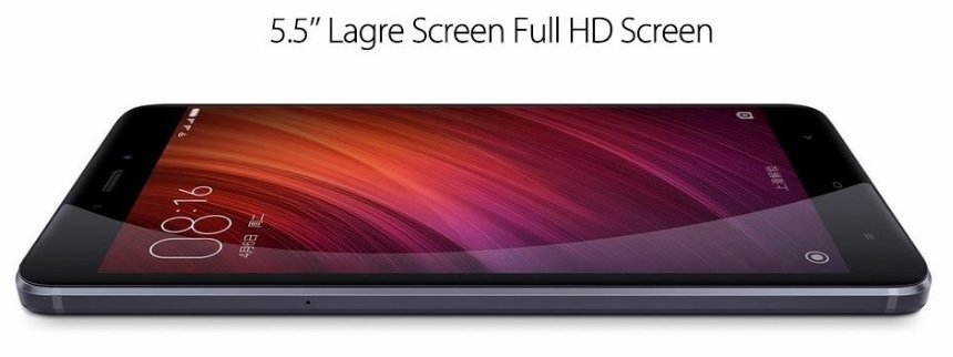 Redmi Note 4 gives 5.5 inch screen display