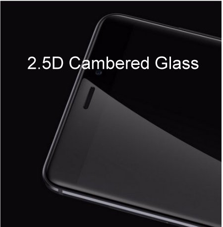 2.5D Cambered Glass
